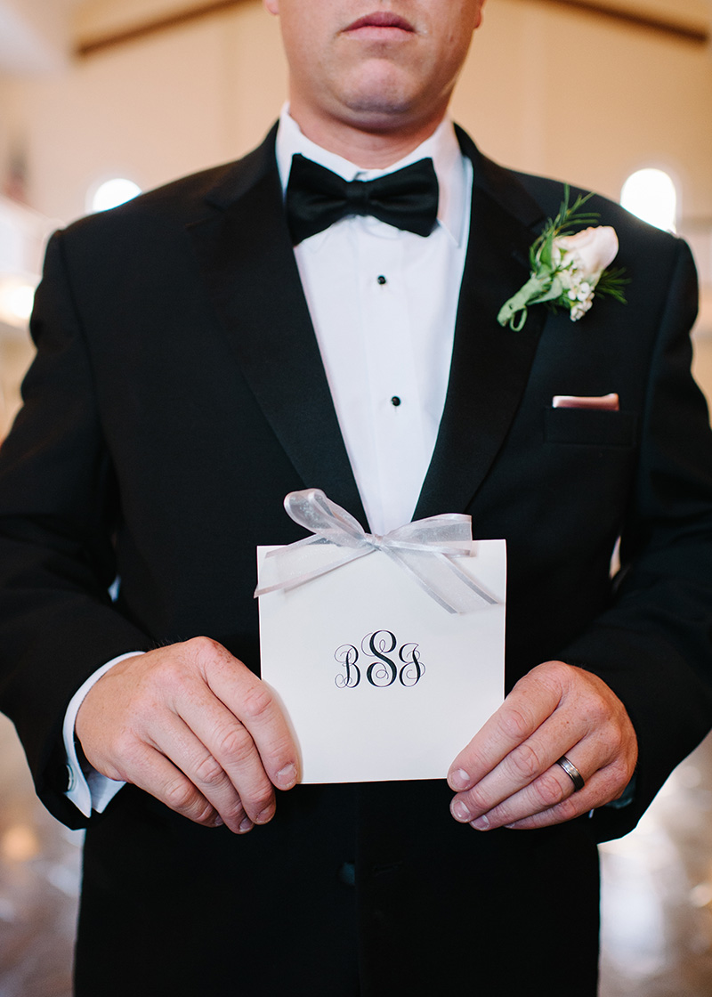 Monogrammed Ceremony Programs
