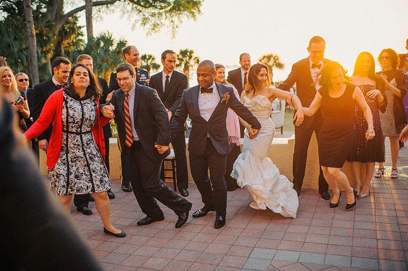 Outdoor Wedding Reception Hora