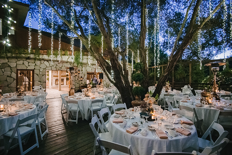 Outdoor Wedding Reception at Casamigos Ranch