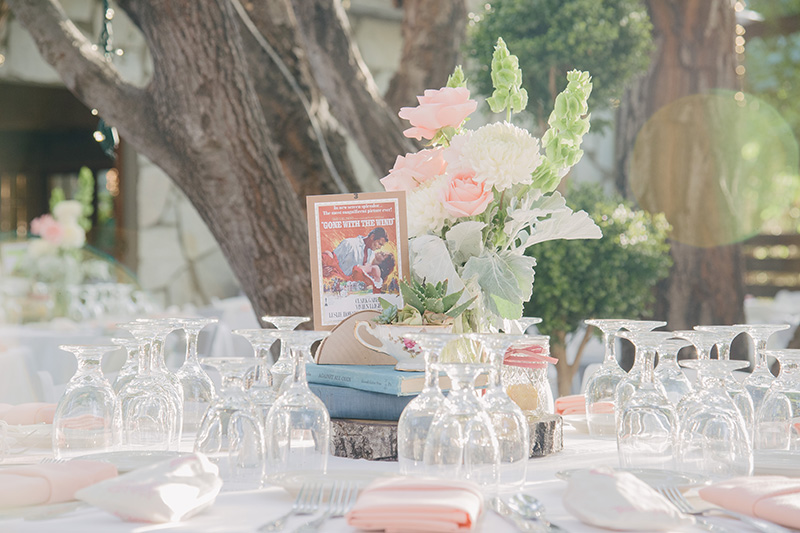 Vintage Tea Cup and Succelent Wedding Reception Centerpiece Displays