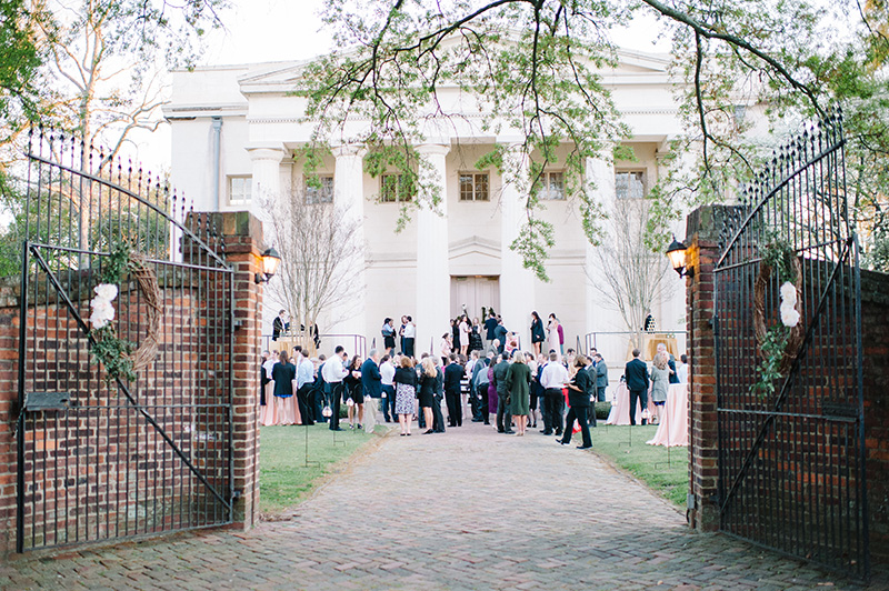 Wedding Reception at The Old Medical College in Augusta