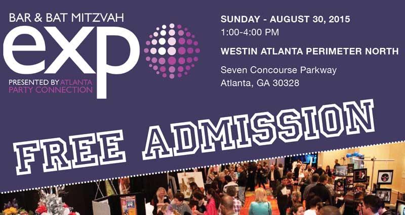 The Atlanta Bar Bat Mitzvah Expo Is Hening This Weekend Celebration Society