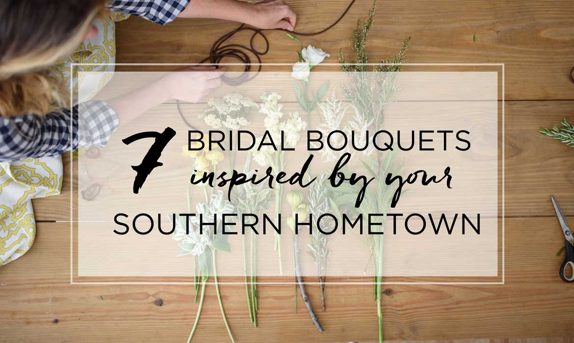 Wedding Bouquets Inspired by Your Hometown