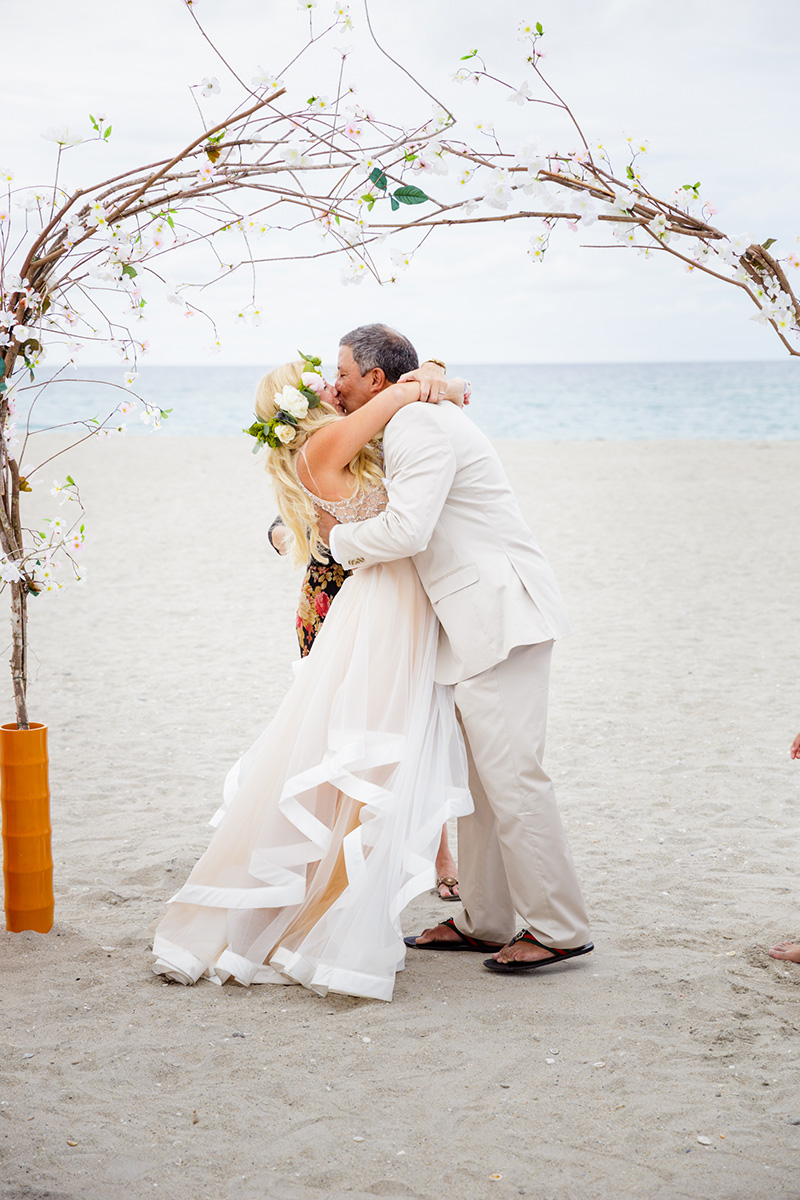 Beachfront Vow Renewal at Carmine\'s Ocean Grill in Palm Beach ...