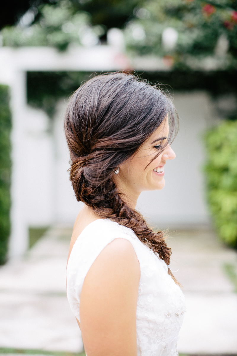 Bride Side of Hair