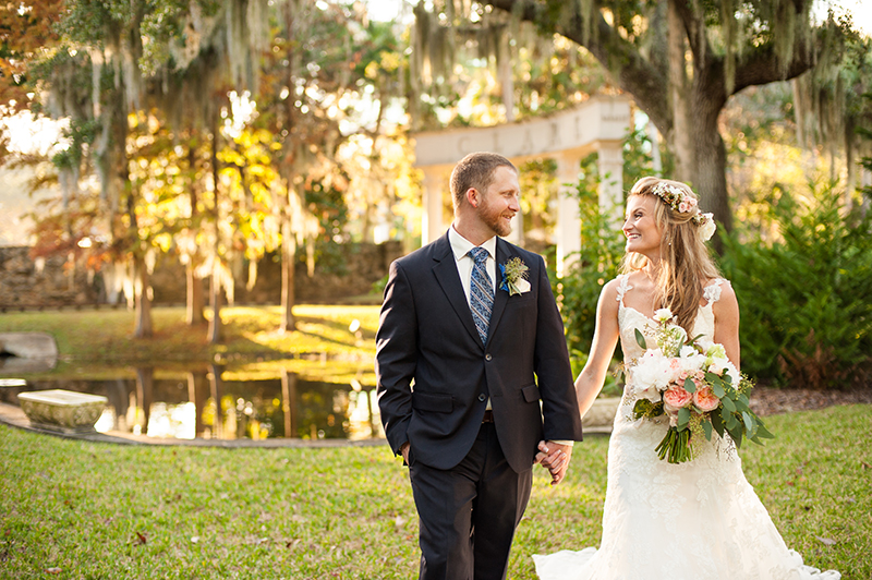 A Whimsical Winter Wedding At The Estate On Halifax In Port Orange FL
