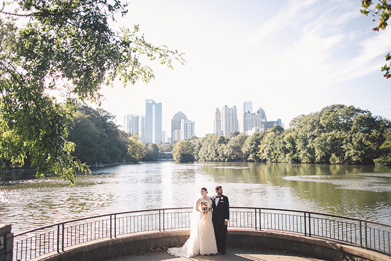 A Relaxed Fall Wedding At Magnolia Hall Piedmont Park In Atlanta Ga The Celebration Society