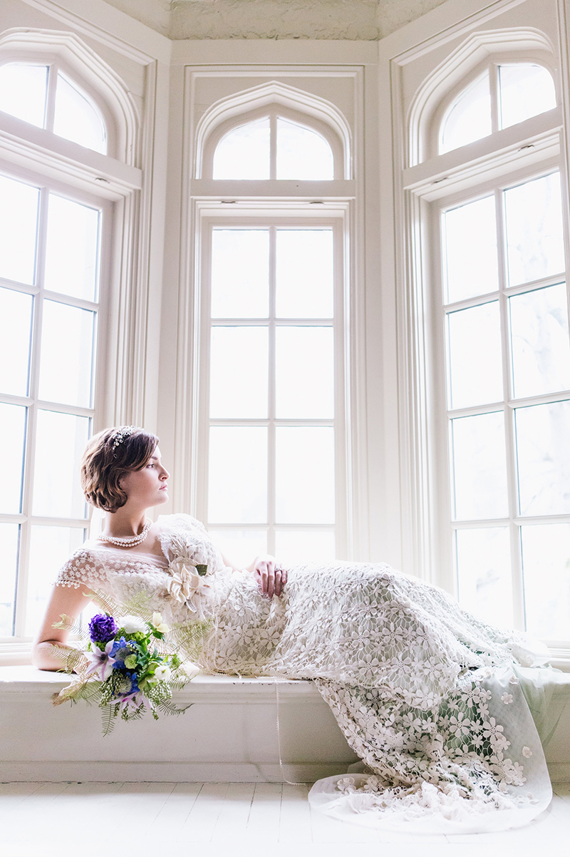 Fairytale Inspired Wedding Dress Bride