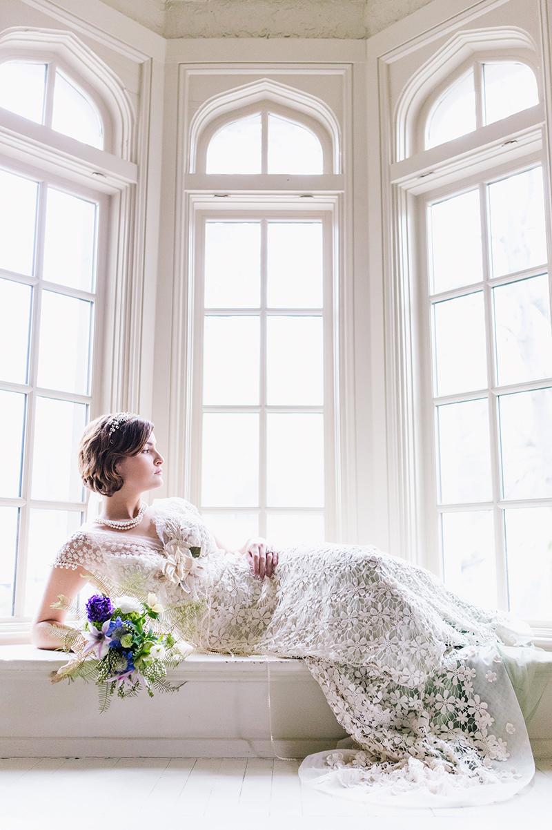 Fairytale Inspired Wedding Dress Bride