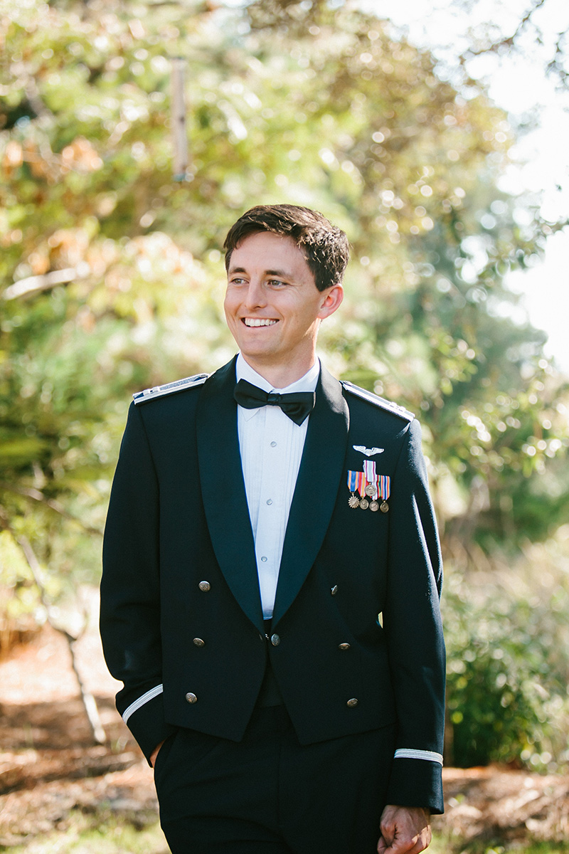 Groom in Air Force Mess Dress