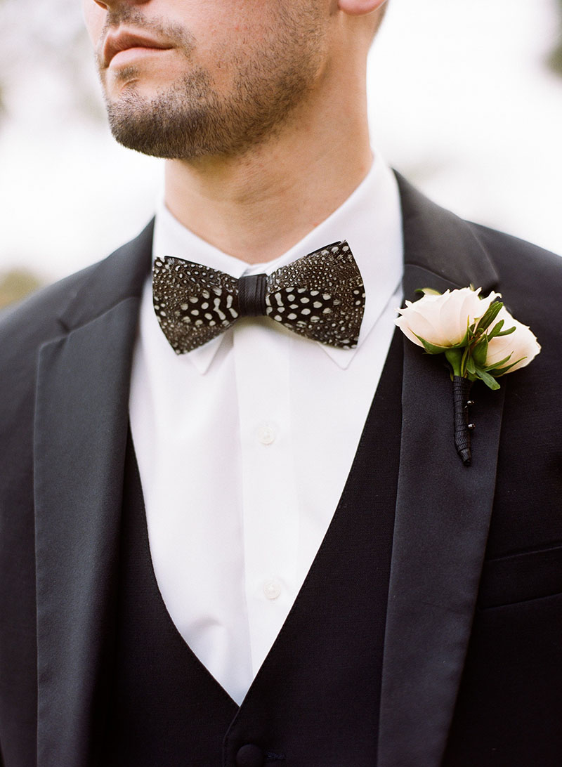 Groom in Brackish Bow Tie