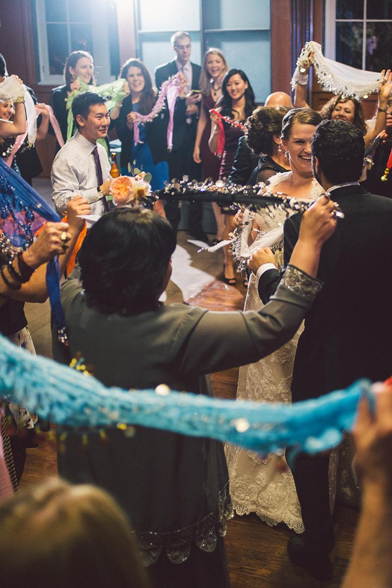 Iraqi Coin Scarf Dance at Wedding Reception
