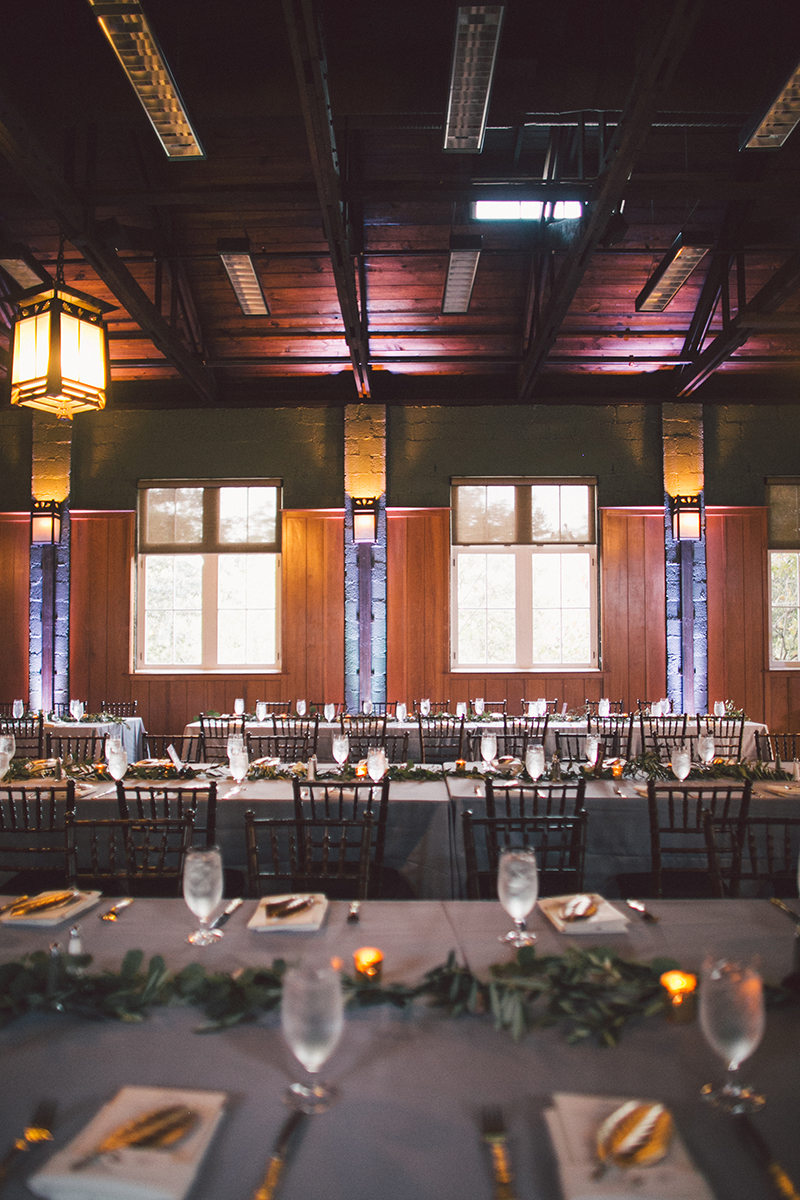 Magnolia Hall at Piedmont Park Wedding Reception