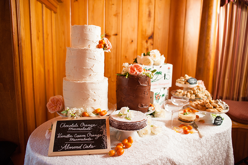 Nontraditional Wedding Dessert Table with Florida Sweets