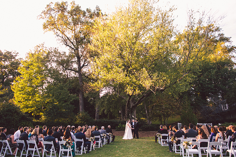 Outdoor Ceremony in Piedmont Park