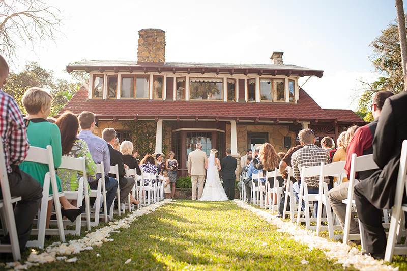 Outdoor Wedding Ceremony at The Estate on the Halifax