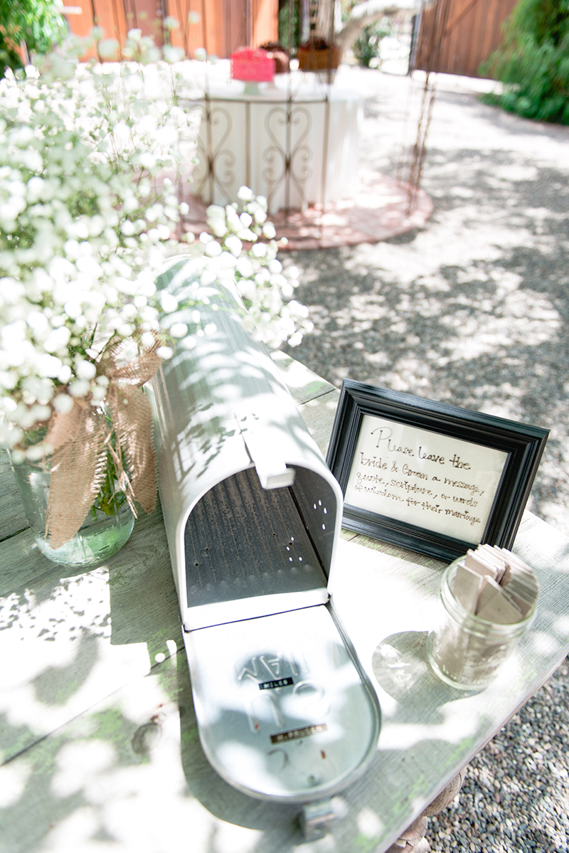 personalized guest book decor