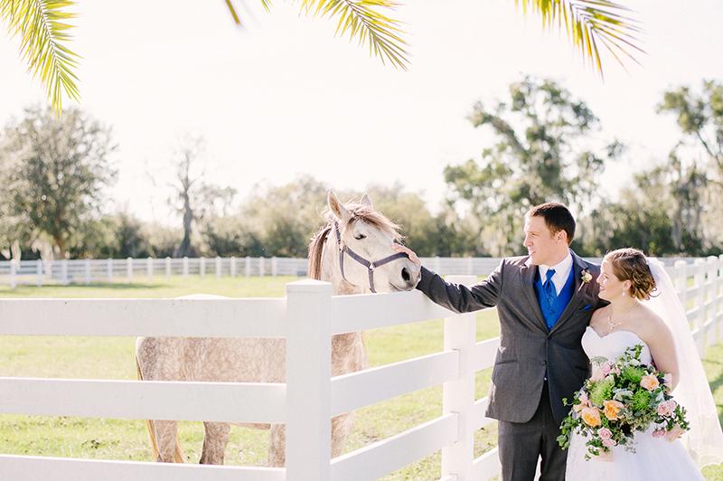 Southern Romance Wedding Inspiration at Rocking H Ranch in Lakeland, FL