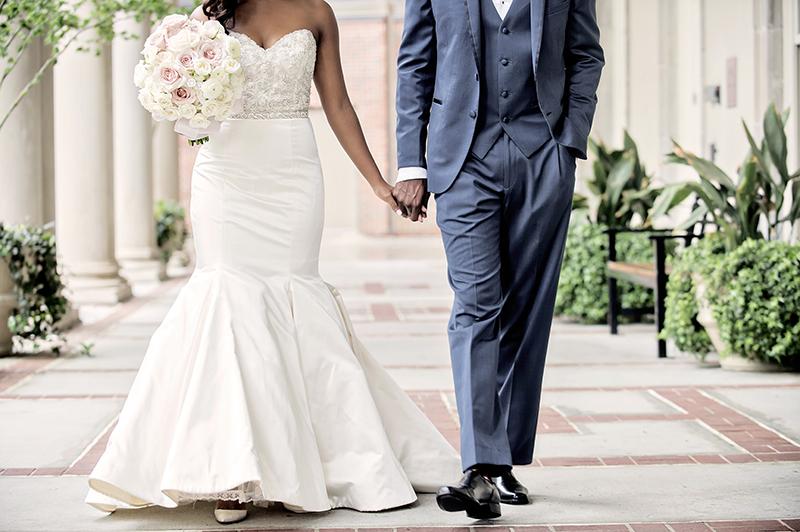 Traditional Wedding Couple Attire
