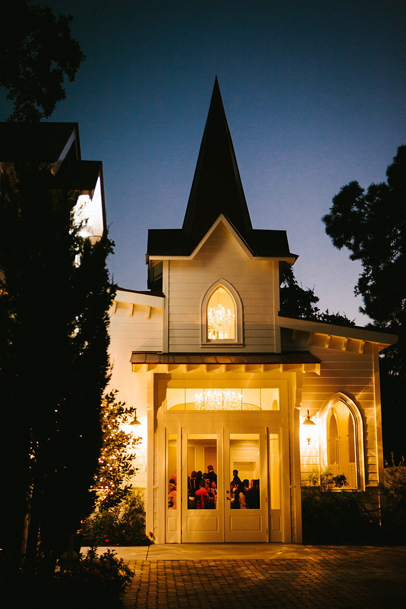Tybee Island Wedding Chapel Evening Reception