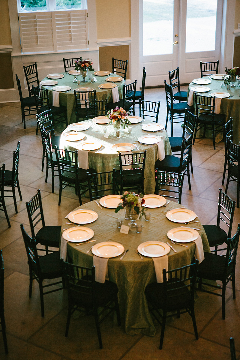 Tybee Island Wedding Chapel Reception