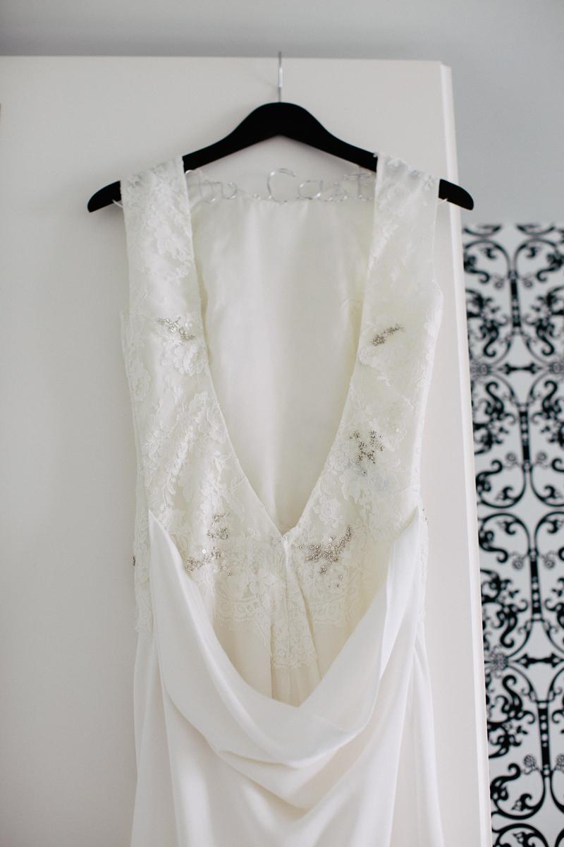 Wedding Dress Back Hanger