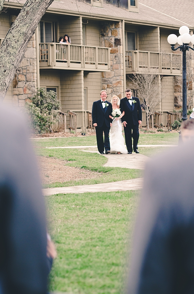 bride-processional-lakefront-wedding