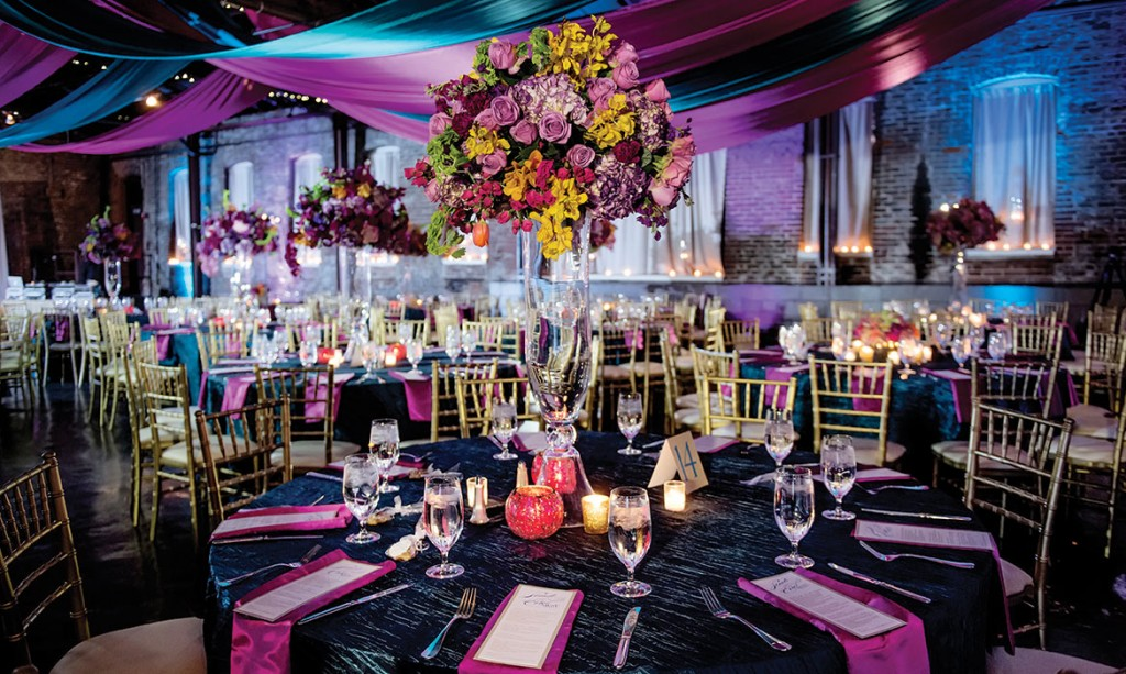 A Vibrant New Orleans Inspired Wedding at King Plow Arts Center in ...
