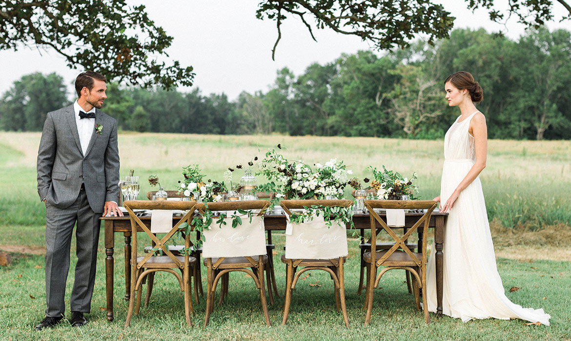 Southern Sophistication Wedding Inspiration at Burge Plantation in Mansfield, GA