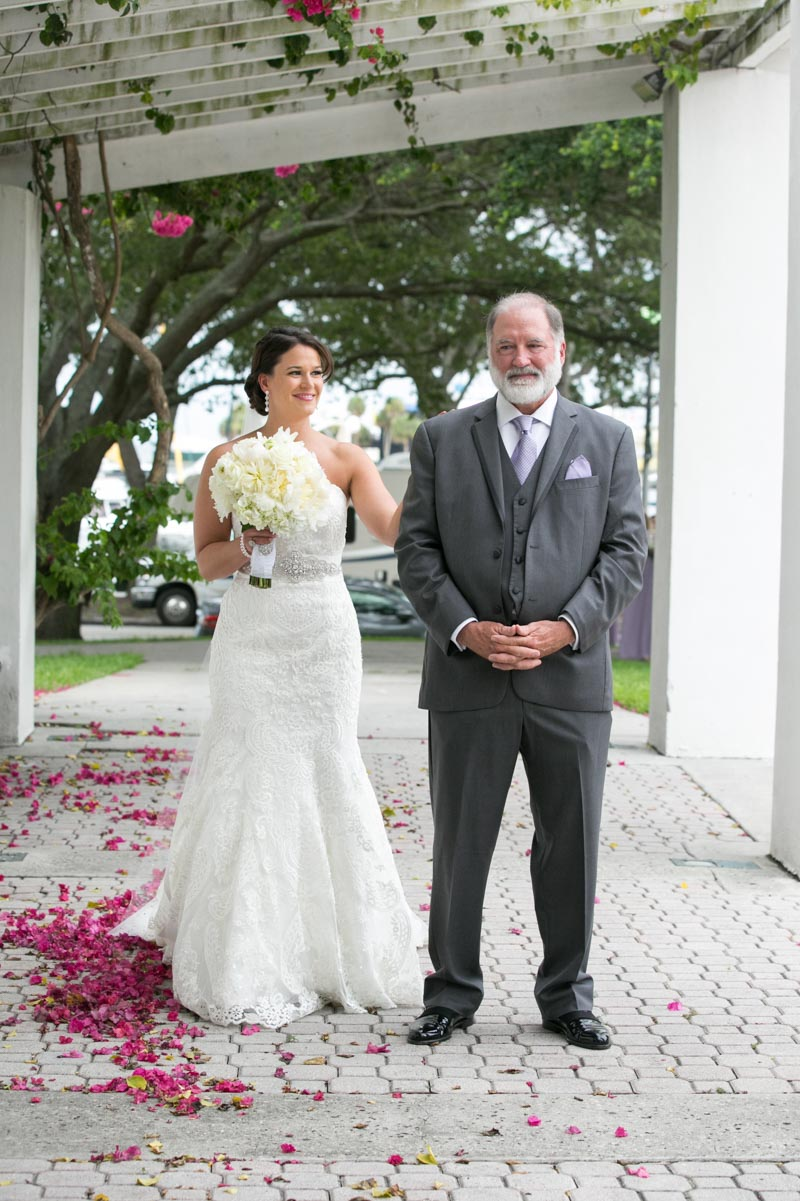 Bride & Father Portrait