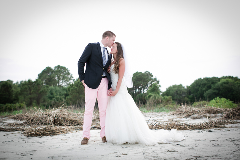 Preppy Beach Wedding At Port Royal Golf Club In Hilton Head South Carolina