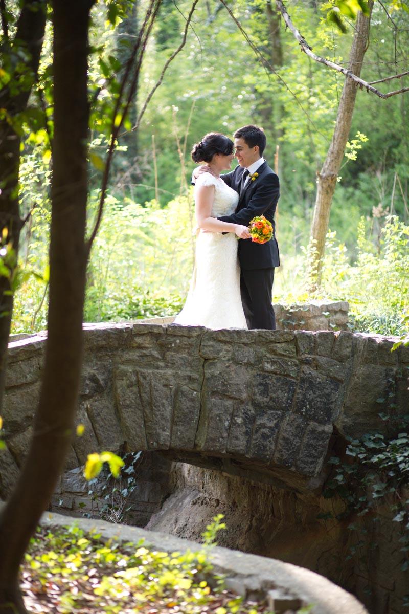 Bride Groom Portrait Outdoor Nature