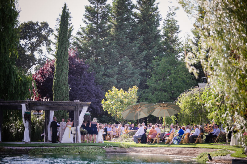 California Wedding Vows Venue Shot