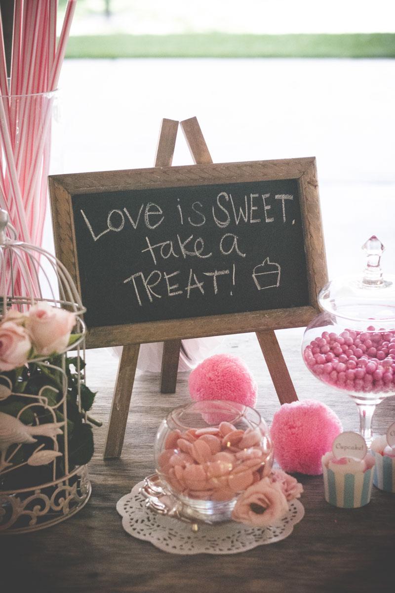 Dessert Table Chalkboard Decorations