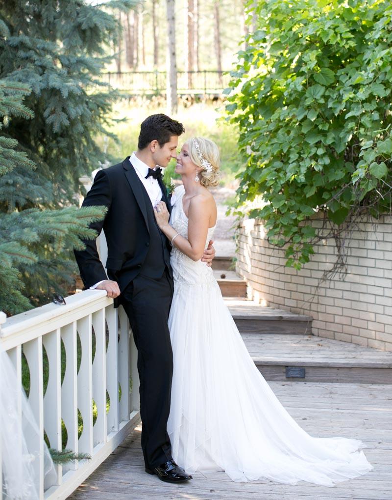 Elegant Polish Wedding Bride and Groom