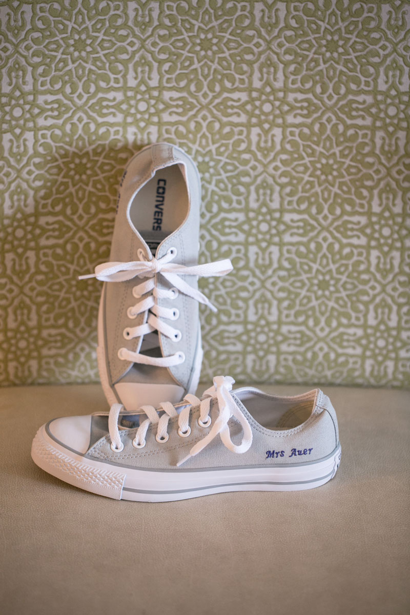 Light Gray Converse Sneakers