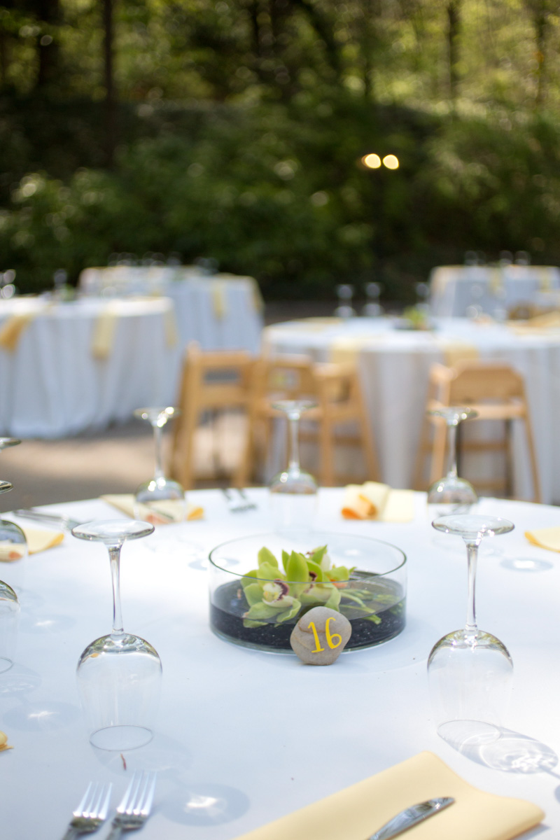 Outdoor Reception Centerpiece