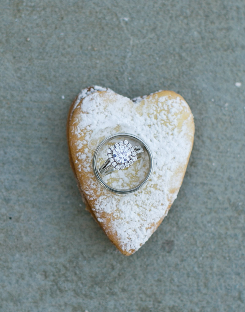 Polish Wedding Cookie and Rings
