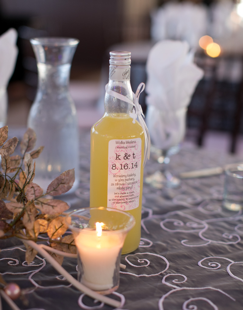 Polish Wedding Reception Homemade Vodka