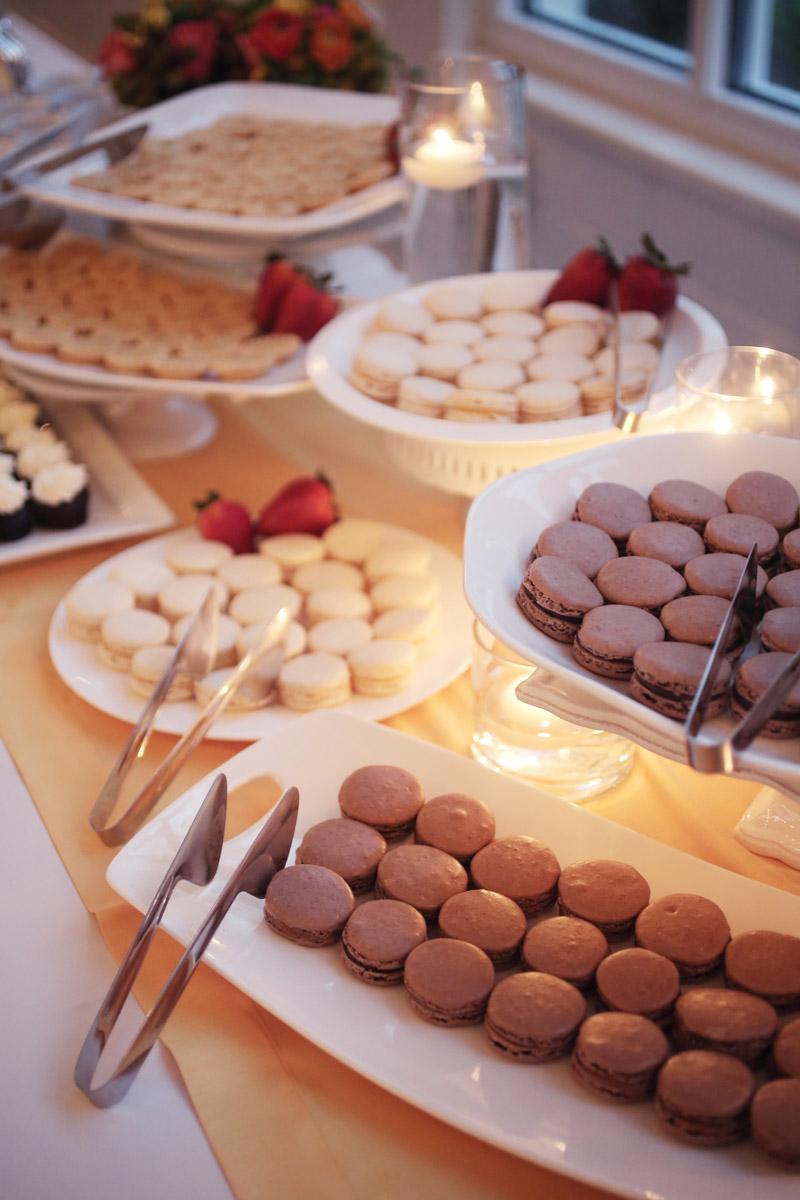 Reception Dessert French Macarons
