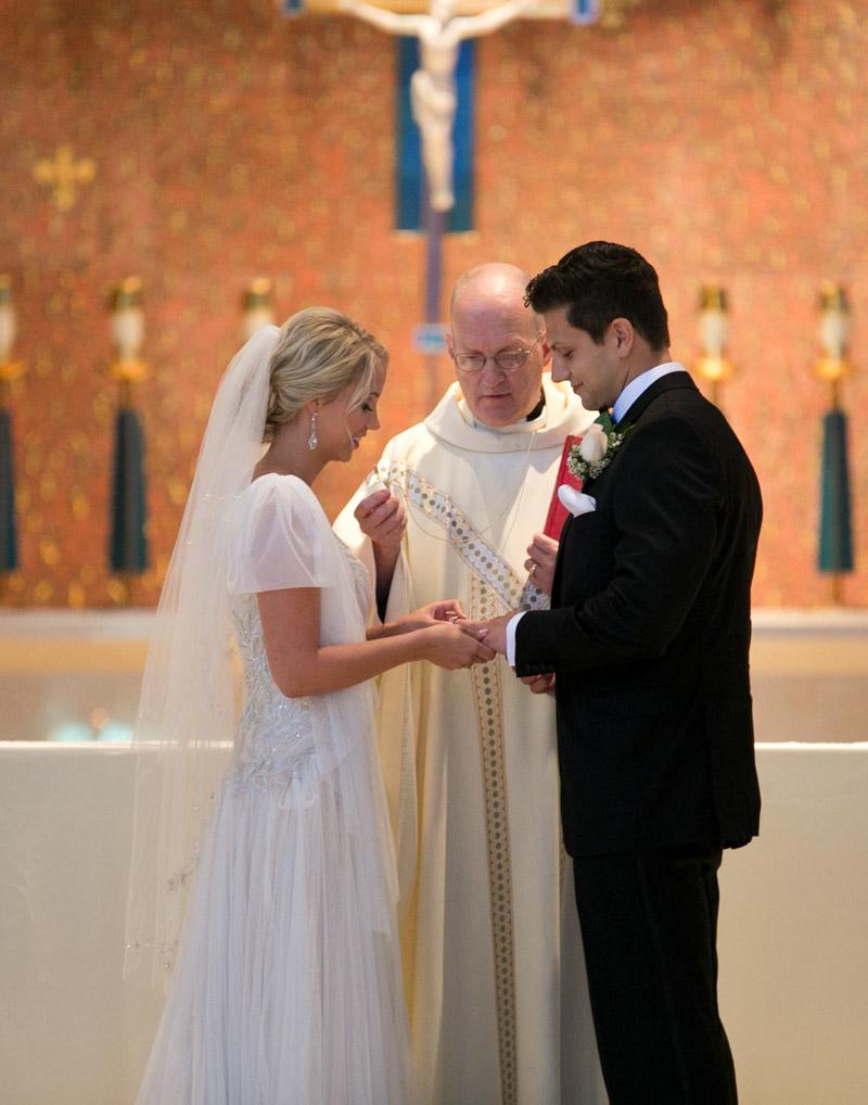 Romantic Polish Catholic Church Wedding Ceremony