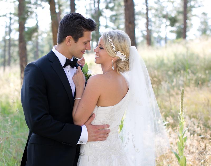 Romantic Polish Wedding Bride and Groom