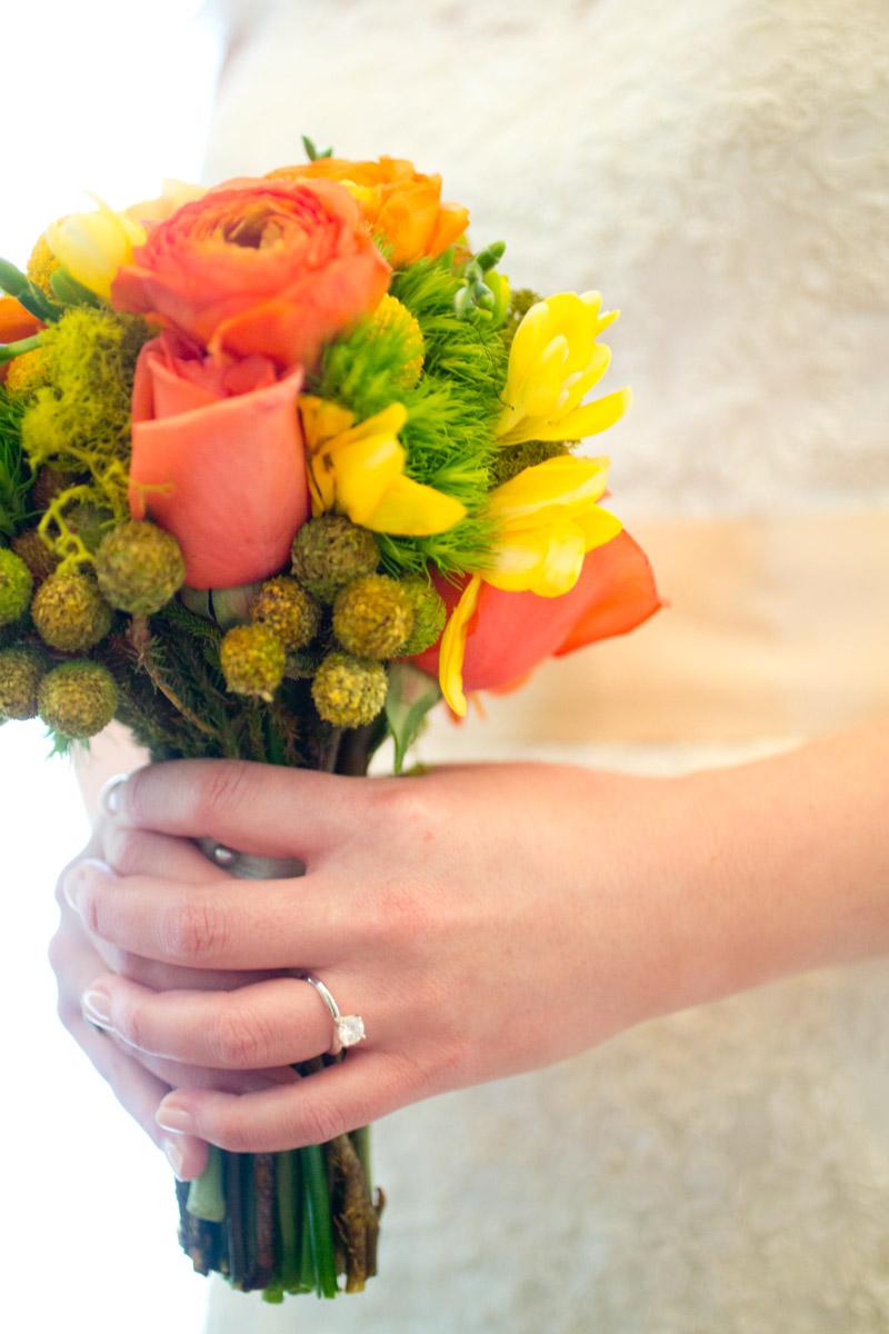 Rose Greens Flower Bouquet
