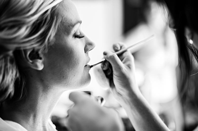 Rustic South Carolina Wedding Bride Makeup