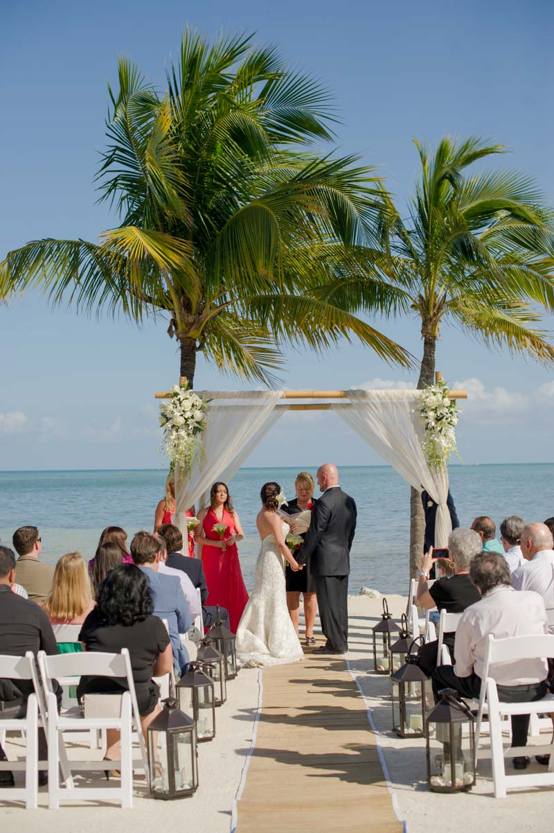 Tropical Beach Wedding Ceremony