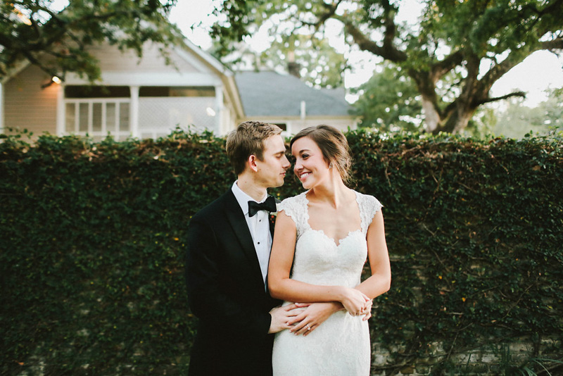 Alabama December Wedding Bride and Groom