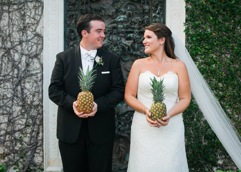 A Southern Pineapple Themed Wedding at The Colony Palm Beach in West Palm Beach, FL