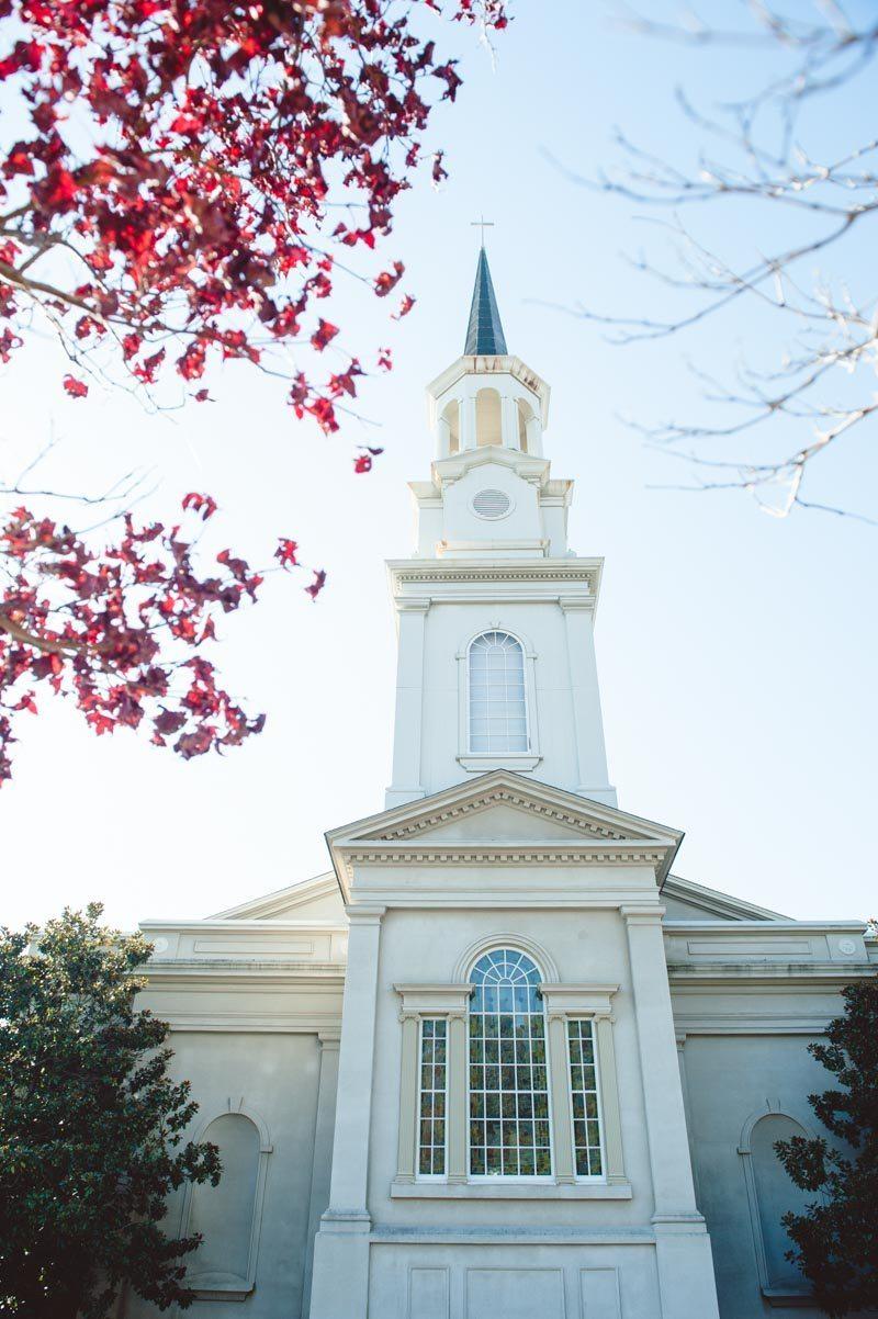 Church on Wedding Day