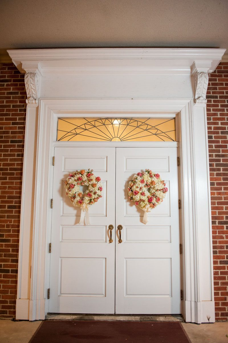 Decorated Reef on Church Doors