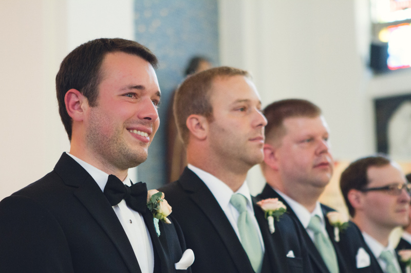 Elegant Lavish Southern Wedding Ceremony Groom & Groomsmen